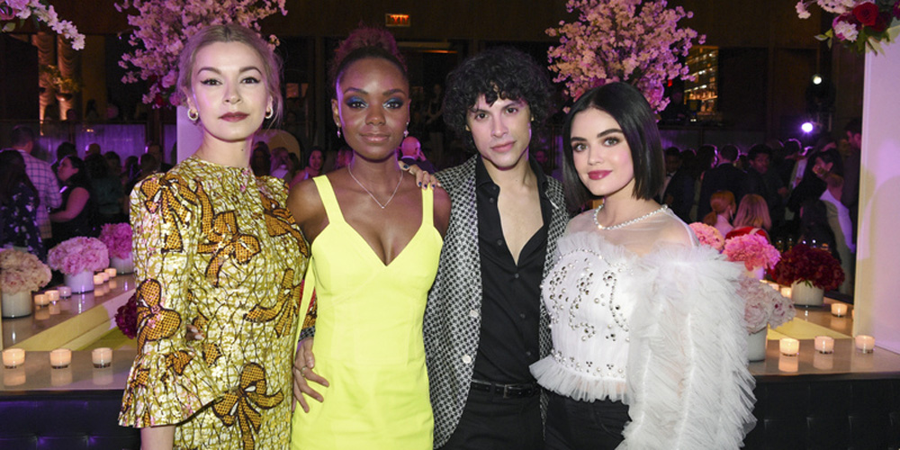 Sarah Jeffery, Lucy Hale, Ashleigh Murray & More Step Out For CW's Upfronts After Party