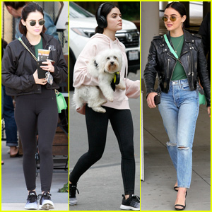 Lucy Hale Switches Up Her Looks For Saturday Outings in LA