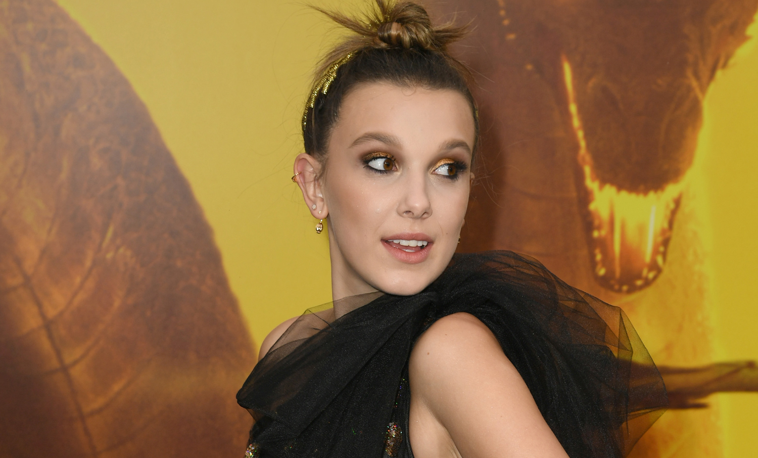 Millie Bobby Brown Goes Glam for 'Godzilla: King of Monsters' Premiere!
