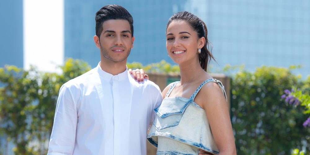 Naomi Scott & Mena Massoud Take 'Aladdin' To Mexico!
