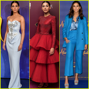 Naomi Scott's 'Aladdin' Press Tour Outfits Had Special Inspiration!