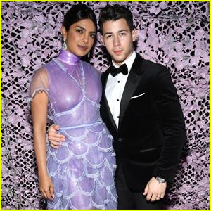 Nick Jonas & Priyanka Chopra Look So In Love at 'Chopard's Love Night Party