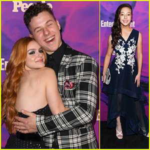 Nolan Gould & Ariel Winter Give Us New Hug Pics at EW Upfronts Party in NYC