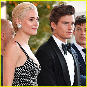 Pixie Lott & Oliver Cheshire Cozy Up at Cannes!
