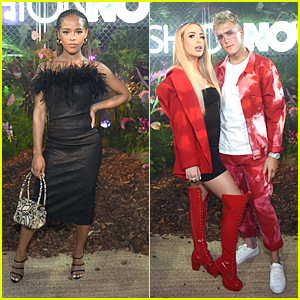 Serayah Steps Out To Celebrate Cardi B's New Collection With Fashion Nova