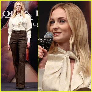 Sophie Turner Attends 'Dark Phoenix' Screening in South Korea!
