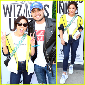 Ally Maki Attends Harry Potter: Wizards Unite Launch Event With Fiance Travis Atreo