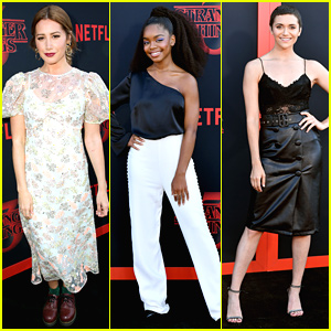 Ashley Tisdale, Marsai Martin, Alyson Stoner & More Attend 'Stranger Things' Premiere