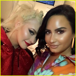 Demi Lovato Writes a Rave Review for Christina Aguilera's Vegas Show!