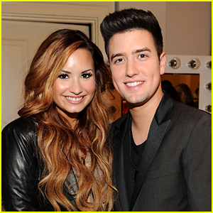 Logan Henderson Joins Demi Lovato & Her Mom for 'The Bachelorette' Viewing Party!