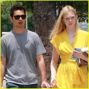 Elle Fanning Goes Shopping with Boyfriend Max Minghella!