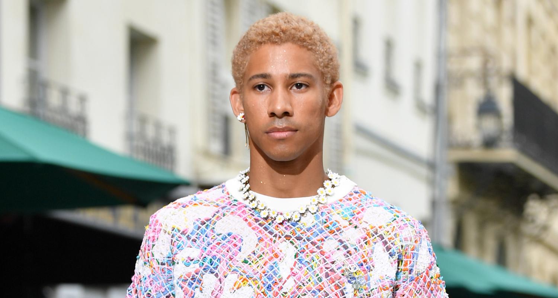 Keiynan Lonsdale Makes Paris Fashion Week Runway Debut With Louis Vuitton