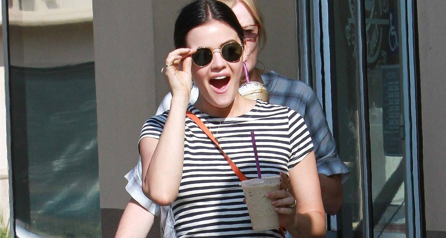 Lucy Hale Gets a Birthday Surprise From the Paparazzi!