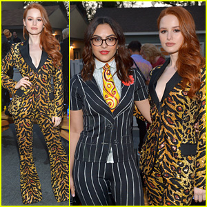 Madelaine Petsch & Camila Mendes Stun at Moschino's Spring/Summer Fashion Show