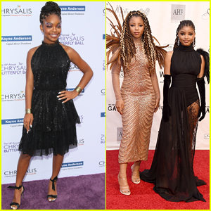 Marsai Martin & Chloe x Halle Stun at the Wearable Art Gala!