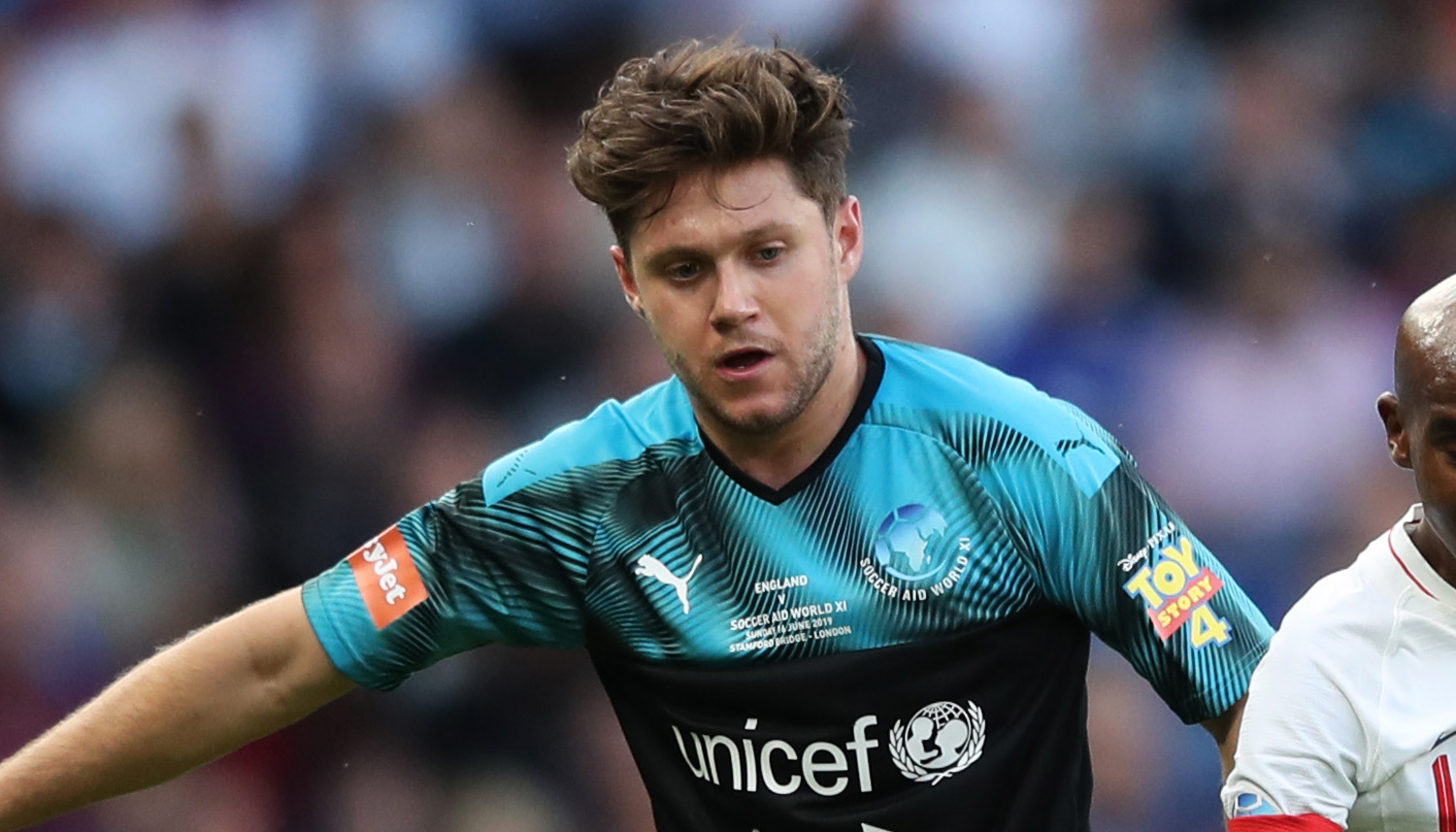 Niall Horan Hits The Field For Charity Soccer Match