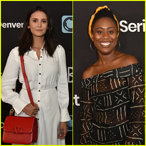 Nina Dobrev & Good Trouble's Zuri Adele Step Out For SeriesFest Season 5 Event