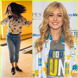 Selena Gomez & Katherine McNamara Join Ariel Winter at Big Slick Celebrity Weekend's Bowling Tournament