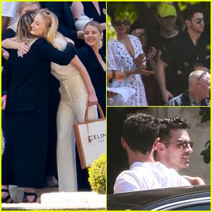Sophie Turner & Joe Jonas Host Pre-Wedding Event in France!
