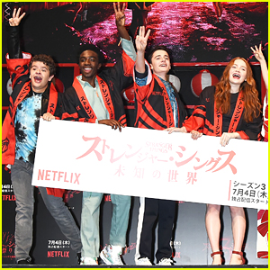 Sadie Sink Joins 'Stranger Things' Cast For Premiere Event in Tokyo