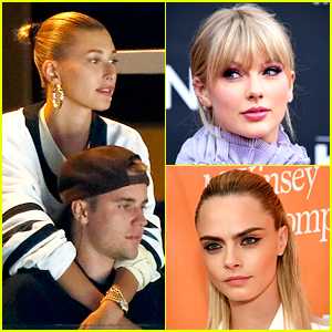 Hailey Bieber Praises Justin's Post About Taylor Swift, Cara Delevingne Blast Her Reply