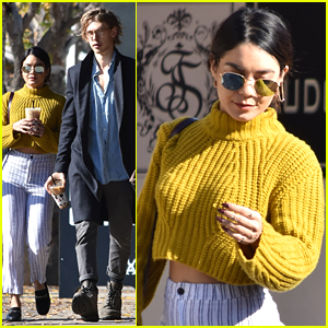 Vanessa Hudgens & Austin Butler Pick Up Coffee Together in LA