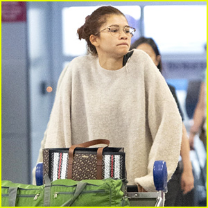 Zendaya Compares Her Paparazzi Photo to 'Harry Potter'