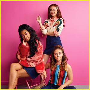 Anna Cathcart, Brenna D'Amico & Jadah Marie Dish on 'Descendants 3' in 'Girls' Life' Magazine