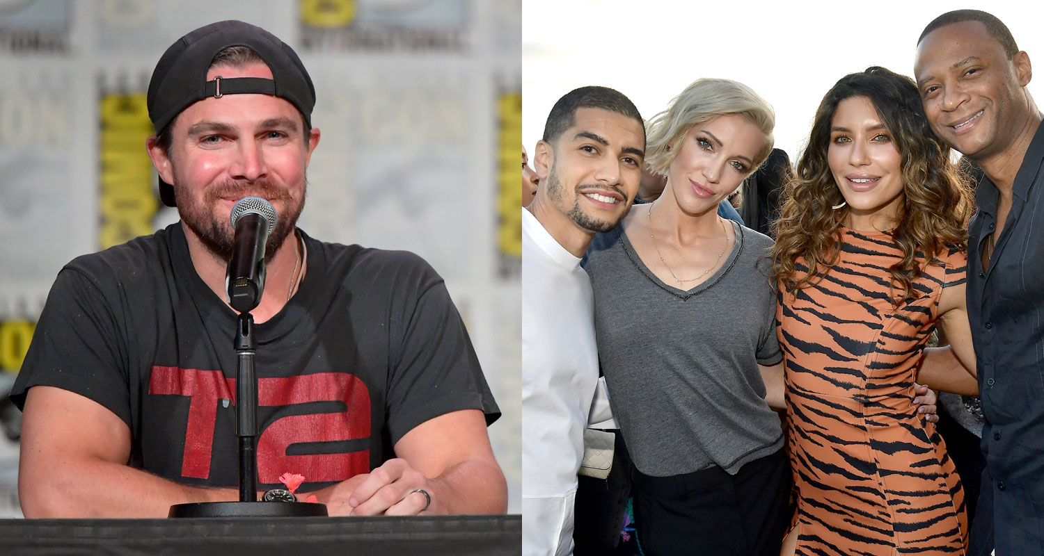 'Arrow' Cast Dishes on 'Cinematic' Final Season at Comic-Con
