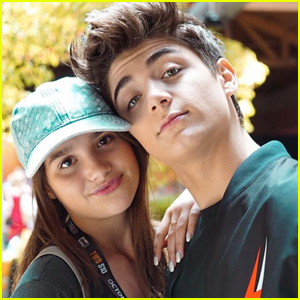 Asher Angel Takes His 'Superhero' Annie LeBlanc to Comic-Con!