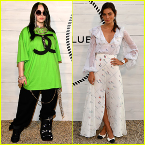 Billie Eilish Wears Medical Boot to Chanel J12 Dinner