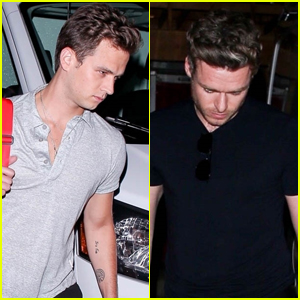 Branon Flynn Grabs Dinner with Richard Madden in West Hollywood