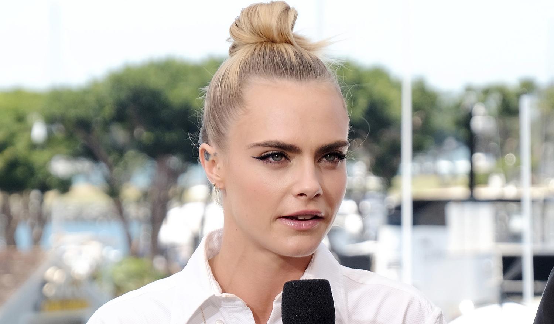 Cara Delevingne Boards IMDb Yacht at Comic-Con 2019!