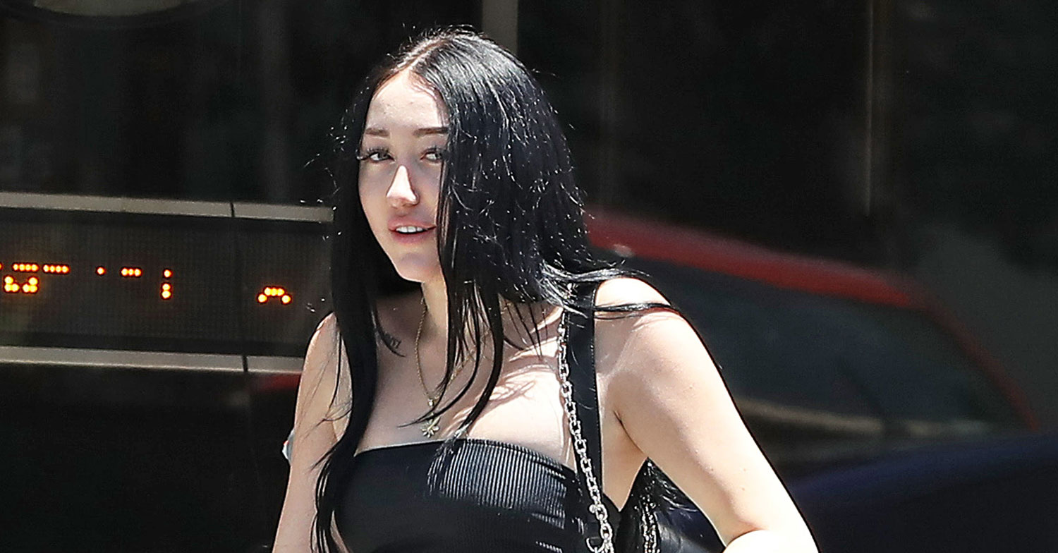 Noah Cyrus Rocks Black Tube Top for Lunch Date With a Friend