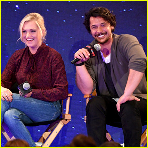 The 100's Eliza Taylor and Bob Morley Open Up About Their Surprise Wedding & Marriage at Comic-Con 2019