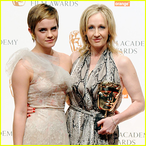 Emma Watson Reunites With Evanna Lynch & JK Rowling For Costume Birthday Bash - See The Pic!