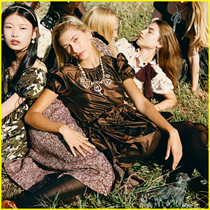 Hailey Bieber & Abby Champion Star in Miu Miu's New Fashion Campaign