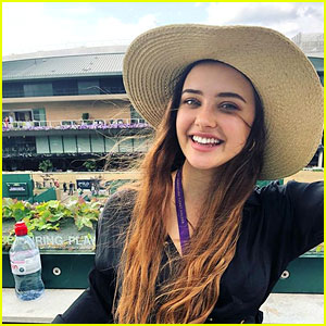 Katherine Langford is All Smiles at Wimbledon 2019!