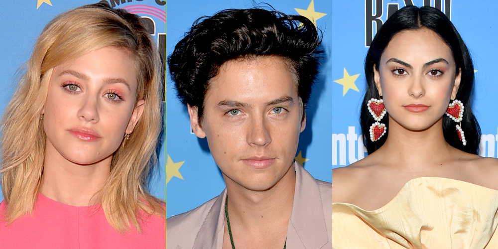 Riverdale's Lili Reinhart, Cole Sprouse & Camila Mendes Stop By EW's Comic-Con Party!