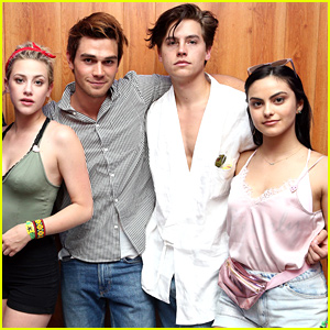Lili Reinhart Shares Fun Video of 'Riverdale' Cast On Trampoline