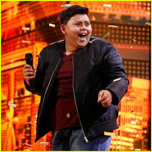 Watch 12-Year-Old Singer Luke Islam Get AGT's Final Golden Buzzer!