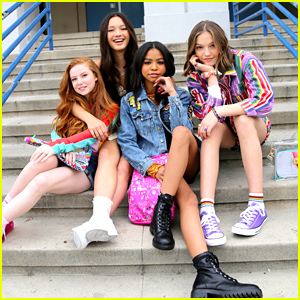 Navia Robinson & Jayden Bartels Star in Yoobi's New Back To School Campaign With Francesca Capaldi & Lily Chee