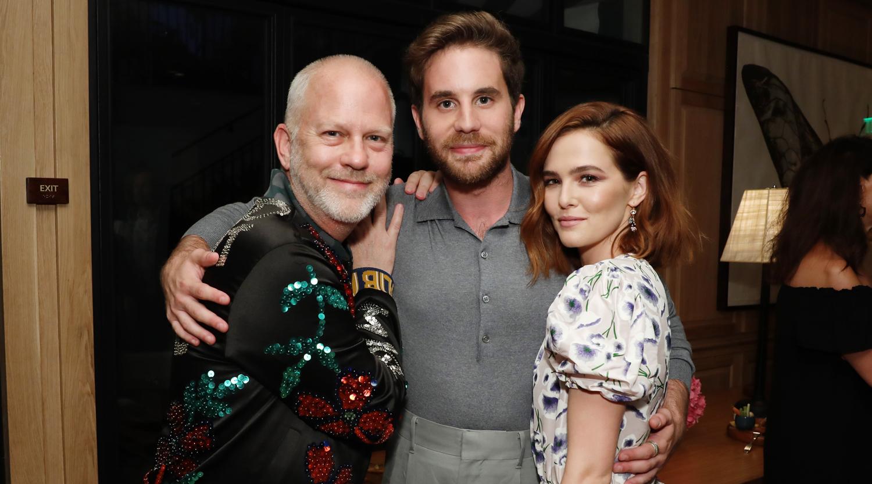 BFFs Ben Platt & Zoey Deutch Preview Their New Netflix Series in L.A.