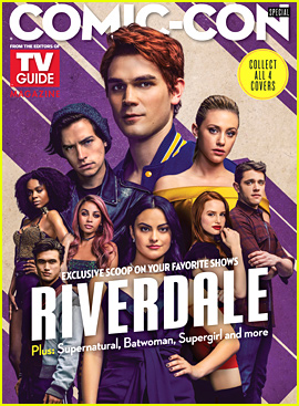 'Riverdale' Cast Cover Special Comic-Con Issue of 'TV Guide' Magazine