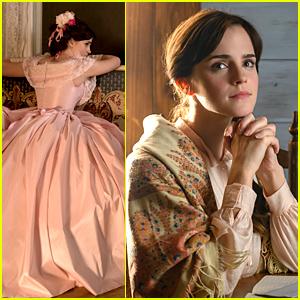 Emma Watson & Saoirse Ronan Star in 'Little Women' - See The New Hi-Res Pics!