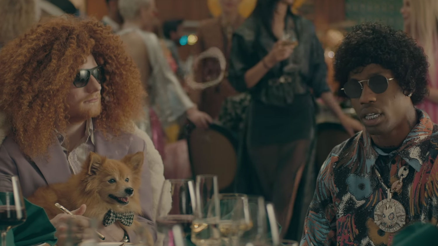 Ed Sheeran Transforms Into Different Characters in 'Antisocial' Video With Travis Scott – Watch!