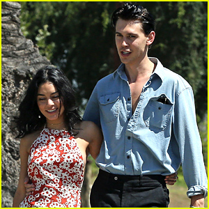 Vanessa Hudgens & New 'Elvis' Actor Austin Butler Spotted Out in LA After Casting News