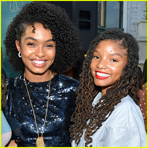 Yara Shahidi Says Halle Bailey 'Redefines What It Means to Be a Princess'