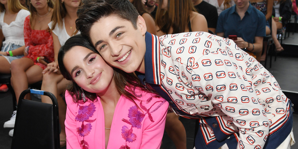 Asher Angel Shares Sweet Snaps With Girlfriend Annie LeBlanc