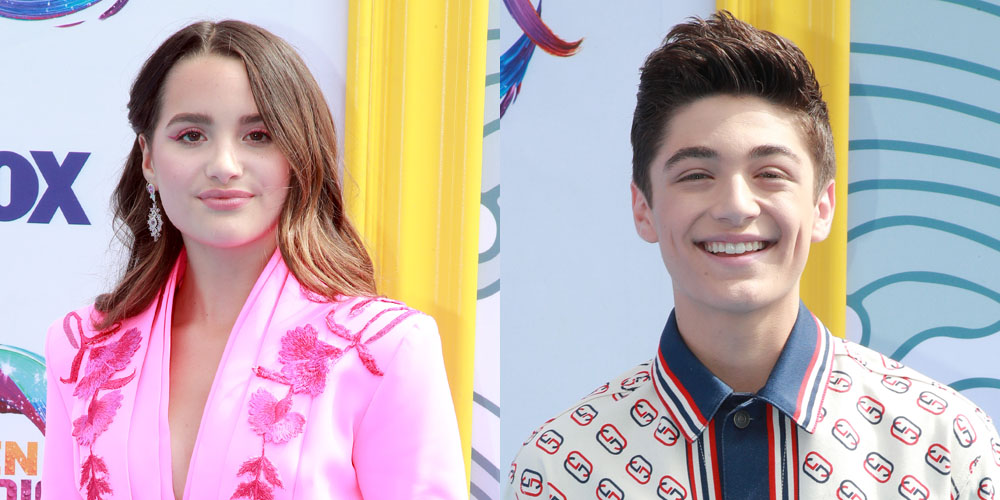 Asher Angel & Annie LeBlanc Hit Teen Choice Awards 2019 Together